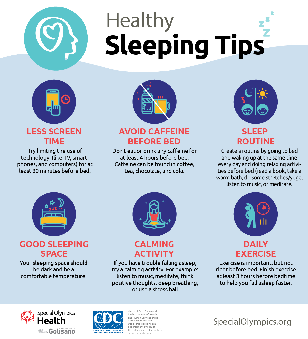 Healthy Sleeping Tips