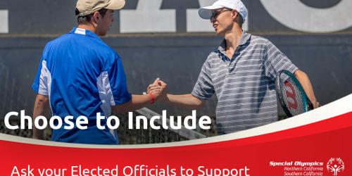 Include Funding for Special Olympics in the CA State Budget